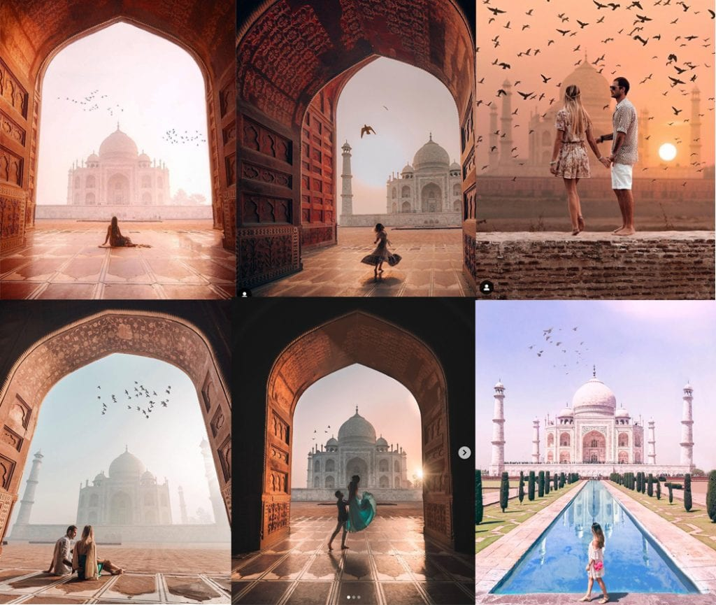 TAJ MAJAL- Photoshopped